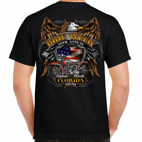 2020 bike week daytona beach Rebel Rider T-Shirt