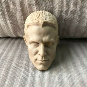Free-Shipping-blank-Hot-1-6-scale-Head-Sculpt-Oliver-Queen-Arrow-Unpainted