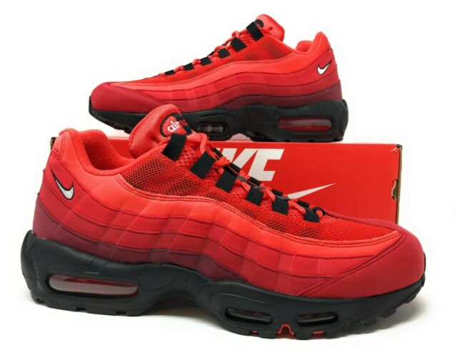 Nike Air Max 95 White Black Trainers,nike huarache red
