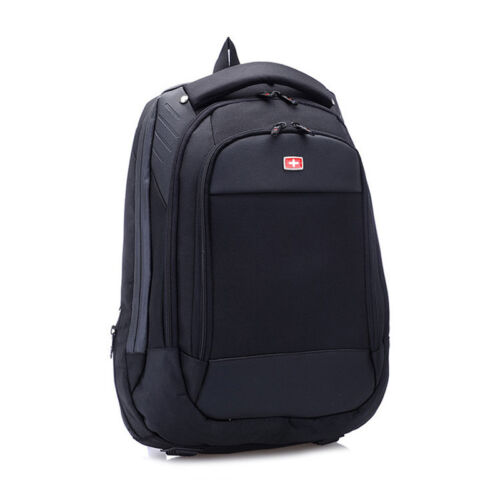 "15/"" Swiss Waterproof  Travel Bag Macbook Laptop Backpack Schoolbag Rucksack New"