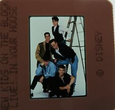 NEW KIDS ON THE BLOCK Step by Step  f You Go Away Cover Girl ORIGINAL SLIDE 2
