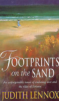 Footprints on the Sand, Judith Lennox   Paperback Book   Acceptable   9780552145