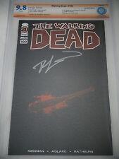 Walking Dead 100 CBCS 9.8 Kirkman Signed Lucille Variant Edition 1st Negan Comic