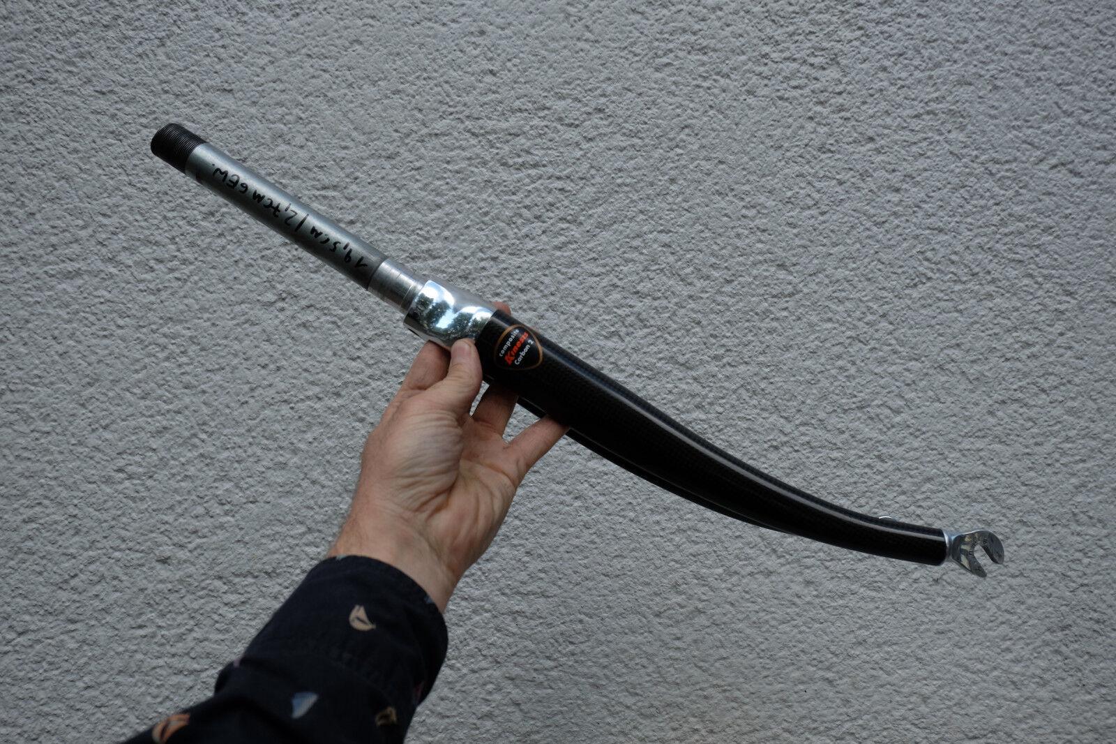 Vintage Rennrad Alu Gabel KINESIS Composite Carbon 2 28 Zoll fork VGC