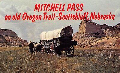 Scottsbluff National Monument Mitchell Pass NE postcard