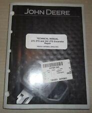 John Deere 27c 35c Zts Excavator Technical Service Shop Repair Manual Tm2053