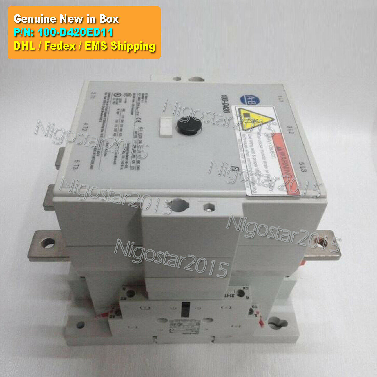 1PC New in Box 100-D420ED11 110-130V Contactor 100-D420 ED11 DHL Fedex Shipping