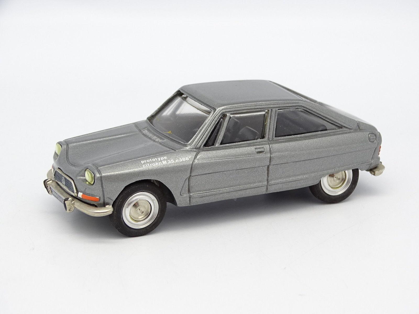 Minicar plus harz sb 1   43 - citroën ami 8 prototyp m35 1970