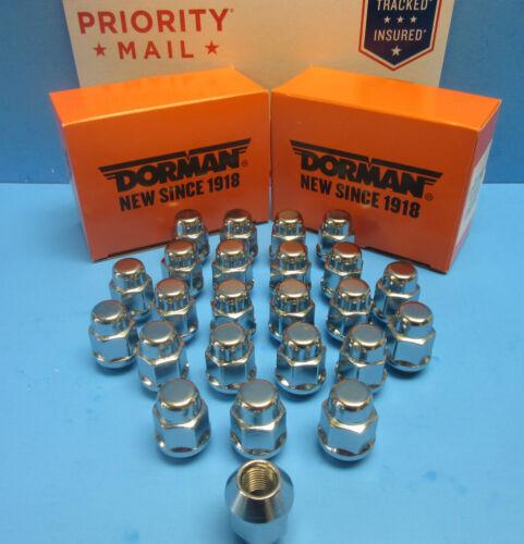 20 Wheel Lug Nuts Font /& Rear L /& R M12-1.50 Replace OEM # 611182 CHROME