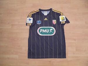 Maillot-porte-match-worn-shirt-Lens-coupe-de-FRANCE-no-om-psg-losc-asse-nantes