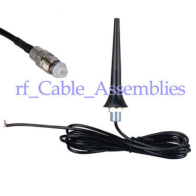 850//1900//900//1800//2100Mhz GSM//UMTS//CDMA//3G Car antenna 9dbi N male for GSM//3G