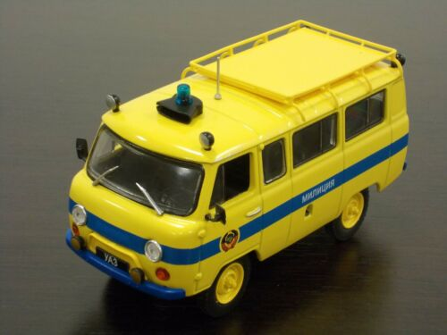 "1:43 UAZ-452V /""Militsia/"" Special Issue /""Police/"" #06 DeAgostini Autolegends"