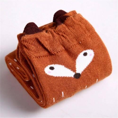 Women/'s Winter Cute 3D Cartoon Animals Thigh Stockings Over Knee High Long Socks