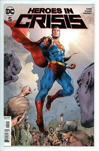 Heroes-In-Crisis-5-DC-Comic-1st-Print-Unread-2018-NM