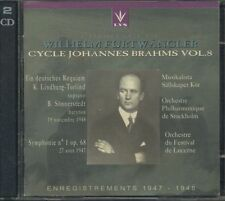 Wilhelm Furtwangler - Cycle Johannes Brahms Vol. 8 2X Cd Perfetto