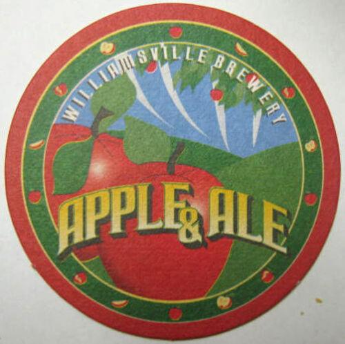 Williamsville Brewery VIRGINIA CLOSED 2000 APPLE /& ALE Beer COASTER Mat