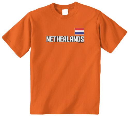 Threadrock Kids Netherlands National Team Youth T-shirt Dutch Holland Pride