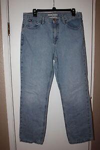 04b27feb Women's Tommy Hilfiger Classic Fit Light Denim Straight Leg Jeans ...