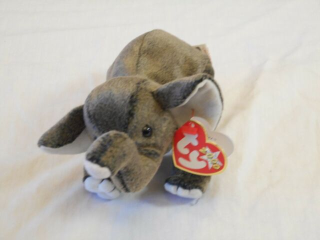 bcaa149c805 TY Beanie Babies - Trumpet The Elephant for sale online