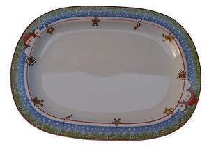 Hutschenreuther-Piatto-da-portata-Piatto-Natale-35-cm-Serving-plate-Christmas