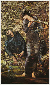 Beguiling of Merlin Edward BurneJones 11 x 14 inch ready mounted vintage print - <span itemprop='availableAtOrFrom'>South Yorkshire, United Kingdom</span> - Returns accepted Most purchases from business sellers are protected by the Consumer Contract Regulations 2013 which give you the right to cancel the purchase within 14 days after  - <span itemprop='availableAtOrFrom'>South Yorkshire, United Kingdom</span>