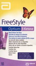 Freestyle Optium Tiras de prueba beta-cetona
