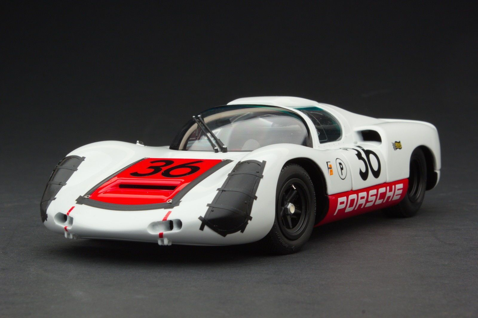 EXOTO 1 18 1967 Porsche 910  36 Sebring Winner Diecast Model Car MTB00066B