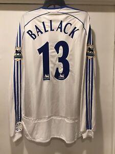 new concept 4be74 7c2fa Details about Michael Ballack 2006-2007 Away Premier League Jersey Chelsea  FC Formotion