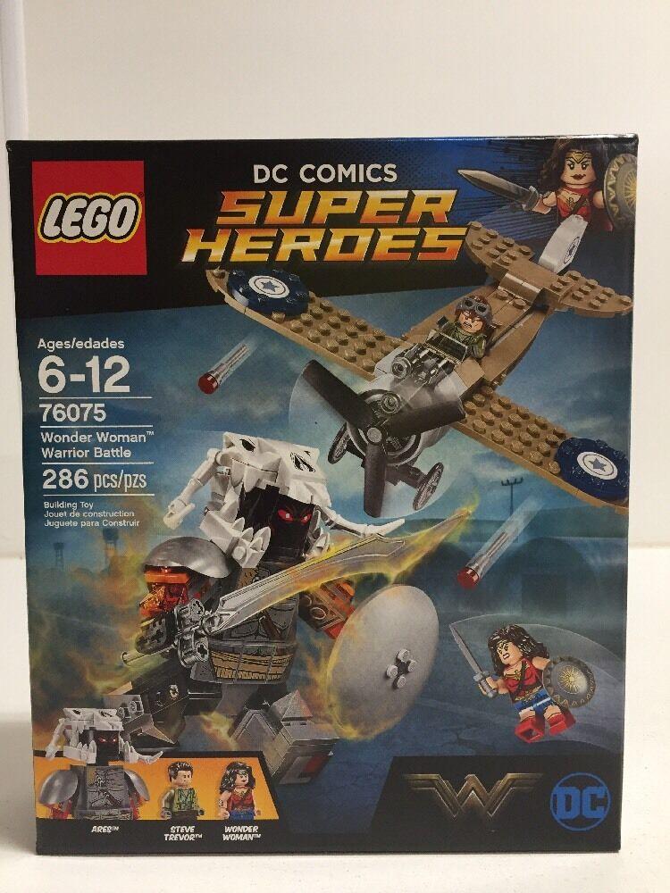 nuovo NIB LEGO DC Comics Super  Heroes 76075 Wonder donna FAST PRIORITY SHIP NISB  fino al 65% di sconto