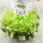 Pet Puppy Small Dog Bow Lace Skirt Princess Tutu Dress Clothes Apparel Costume