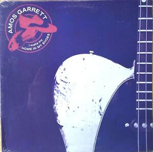 BLUES-ROCK-GUITAR-LP-AMOS-GARRETT-I-Make-My-Home-in-My-Shoes-SEALED-original