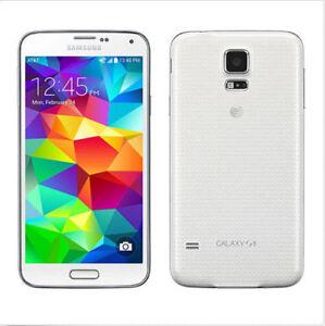Debloque-Telephone-Samsung-Galaxy-S5-4G-LTE-SM-G900A-16GB-5-1-034-2GB-RAM-Blanc