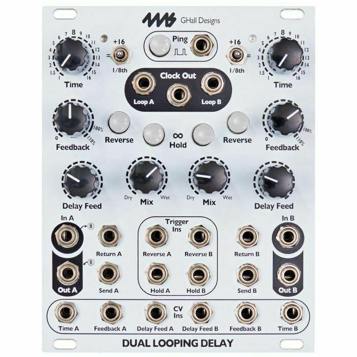 4ms Dual Looping Delay Module