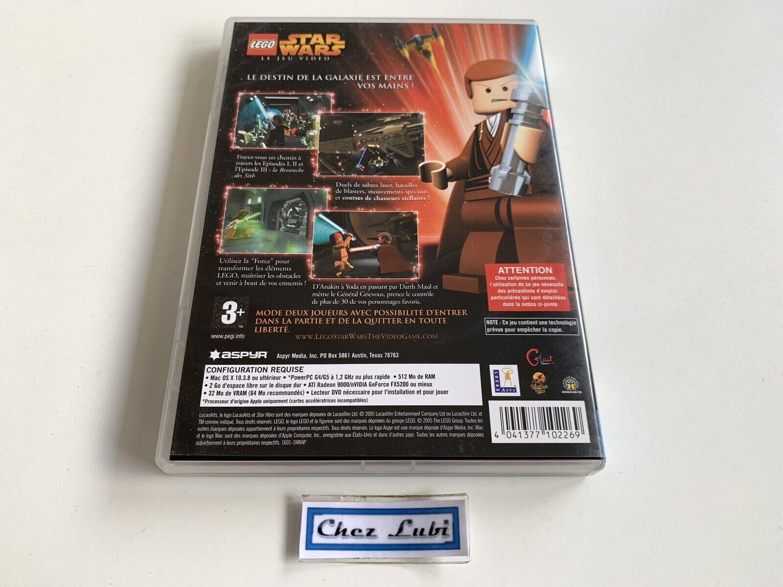 Lego Star Wars Le Jeu Vidéo - Mac / Macintosh - Occasion StarWars
