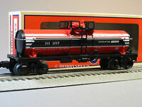 Lionel Rock Island Single Dome Tank Car 257 6-81028 O Gauge Tanker 6-81663