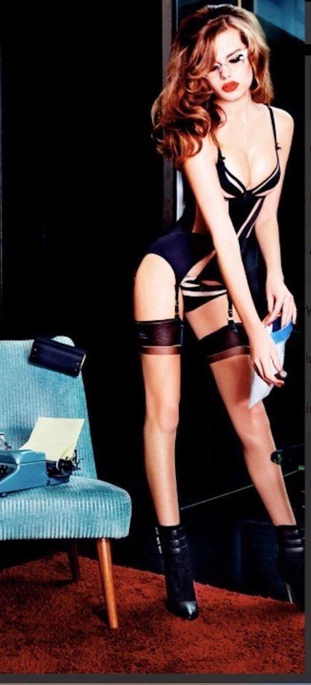 Agent Provocateur Basque Evalyne Noir/nude 34b/34c/34d
