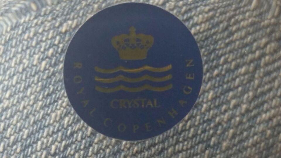Andet, Krystal skål / fad, Royal Copenhagen