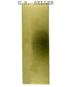 """Brass Sheet Plate .063/"""" 14 gauge 10/"""" x 18/"""""""