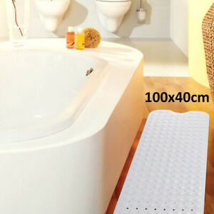 Non-Slip-Extra-Long-Bath-Shower-Mat-Suction-Grip-30-Longer-with-suction-new-UK