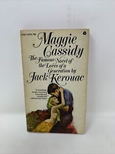 MAGGIE CASSIDY JACK KEROUAC 1959 VTG PAPERBACK PB First Edition