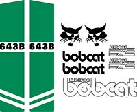 642b Repro Decals / Decal Kit / Sticker Set Us Seller Free Shipping Fits Bobcat