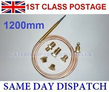 UNIVERSAL GAS THERMOCOUPLE FOR OVENS 1200MM LONG - FREE POSTAGE