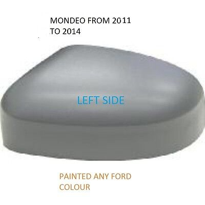 VOLVO S60 MK11 2011/> WING MIRROR COVER LEFT PAINTED VOLVO COLOUR