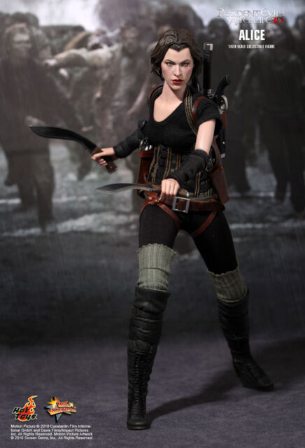 HOT TOYS 1/6 RESIDENT EVIL AFTERLIFE BIOHAZARD MMS139 ALICE ACTION FIGURE