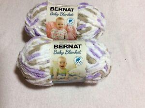 Bernat Baby Blanket Big Ball Little Lilac Dove