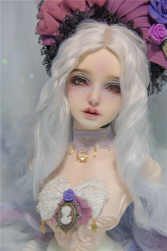Resin BJD head stand  Goddess Bailu (including head ) free eyes face up 1/3 size