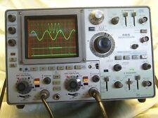 Tektronix 485 Oscilloscope 43 Fail Prone Caps Replaced Calibrated Warranteed