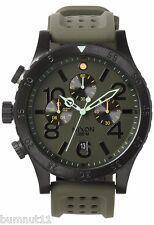 Authentic Men's Nixon 48-20 Chronograph Grand Surplus Watch. NIB, RRP $499.95.