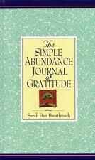 Simple Abundance Journal of Gratitude, Breathnach, Sarah Ban, Good Book