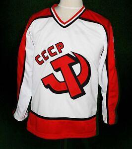 Image is loading SERGEI-MAKAROV-HOCKEY-JERSEY-CCCP-RUSSIA-USSR-SEWN- 89fe9530f39